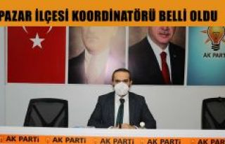 AK Parti Pazar İlçe Koordinatörü Belli Oldu