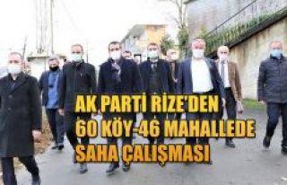 AK PARTİ RİZE MERKEZ İLÇE TEŞKİLATININ SAHA...
