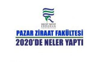 Pazar Ziraat Fakültesi 2020 Yılı Karnesi