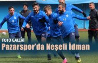 Pazarspor 'da Neşeli İdman…