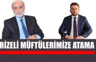 Rizeli Müftülerimiz Topcan Giresun, Çakmak Osmaniye...