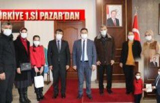 Türkiye 1.si Pazar'dan