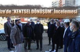 Vali Kemal Çeber, Rize'de ki Kentsel Dönüşüm...