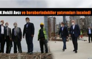 MİLLETVEKİLİ AVCI VE İL BAŞKANI ALİM BELEDİYE...