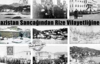RİZE'NİN İL OLUŞU (20 Nisan 1924) LAZİSTAN...