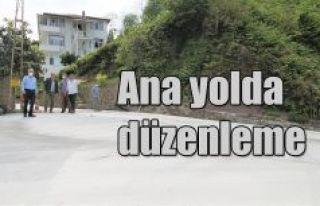 ANA YOL GÜZERGAHI YENİLENİYOR