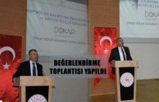 DOKAP BÖLGE KALKINMA PROGRAMI VE ARTVİN İLİ ÇALIŞMALARI...