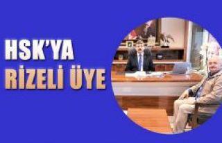 HSK ÜYELİĞİNE SEÇİLMESİ RİZE'DE SEVİNÇLE...
