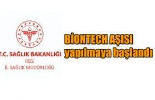 Aile sağlığı merkezlerinde BioNTech aşısı yapılmaya...