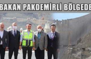 BAKAN PAKDEMİRLİ YUSUFELİ'NDE