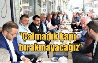 """BAŞKAN AK """"ORTAK PAYDAMIZ RİZE"""""""