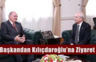 BAŞKAN KURDOĞLU'NDAN CHP GENEL BAŞKANI KEMAL...