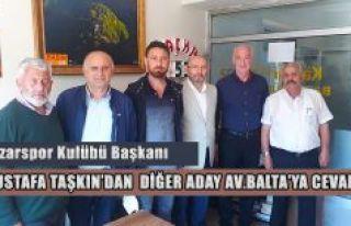 Mustafa Taşkın'dan Kaçkar53.com'a Ziyaret