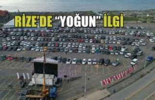 "RİZE BELEDİYESİ'NDEN İKİNCİ ""ARABALI SİNEMA""..."