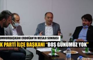 ARHAVİ AKPARTİ İLÇE BAŞKANI GEDİK'İN BOŞ...