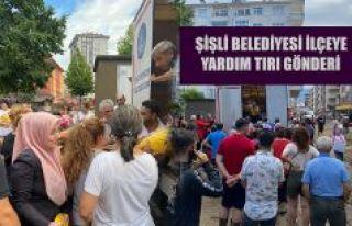 BAŞKAN ARHAVİ'NİN YARDIMINA KOŞTU.