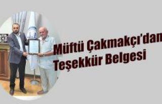 MÜFTÜ ÇAKMAKÇI'DAN HAYIRSEVER RİZELİ İŞ...