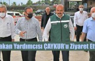 TARIM VE ORMAN BAKAN YARDIMCISI METİN'DEN ÇAYKUR'A...