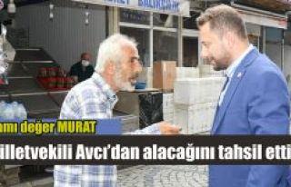 AK Parti Rize Milletvekilli Avcı Pazar'da