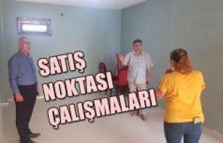 COĞRAFİ İŞARETLİ ÜRÜNLER SATIŞ NOKTASI ÇALIŞMALARI...