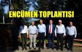 ENCÜMEN TOPLANTISI ARTVİN'DE YAPILDI