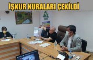 İŞKUR KURALARI NOTER HUZURUNDA ÇEKİLDİ