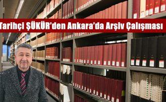 Tarihçi Rıdvan Şükür, Ankara'da bir hafta arşivlerde çalışacak