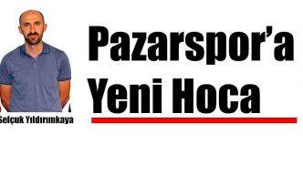 Pazarspor' da Teknik Direktörlüğe Selçuk Yıldırımkaya getirildi