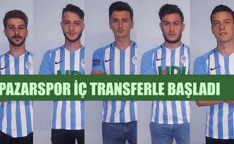 Pazarspor 'da transfer çalışmaları başladı