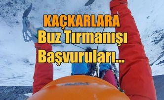 Buz Tırmanış Eğitimi Başvuruları-Rize
