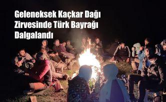 30 Ağustos Zafer Bayramı Kaçkar Zirve tırmanışı bu yılda gerçekleştirildi.
