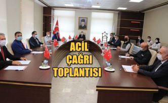 ACİL ÇAĞRI HİZMETLERİ İL KOORDİNASYON KOMİSYONU TOPLANTISI YAPILDI