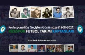 1968-2021  RİZESPOR FUTBOL TAKIMINDA KAPTANLIK YAPANLAR