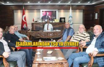 İŞ ADAMLARINDAN TSO'YA ZİYARET