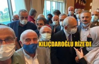 Kılıçdaroğlu Rize'de