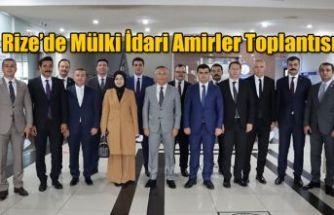 Mülki İdari Amirler Toplantısı Gerçekleştirildi
