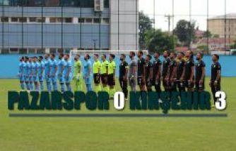 Pazarspor 0 Kırşehir 3