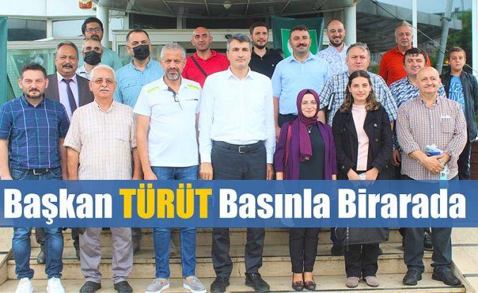 """Başkan Prof. Dr. Hasan TÜRÜT;""""YEŞİL RİZE'DE HER BİREY YEŞİLAY GÖNÜLLÜSÜ OLMALI"""""""