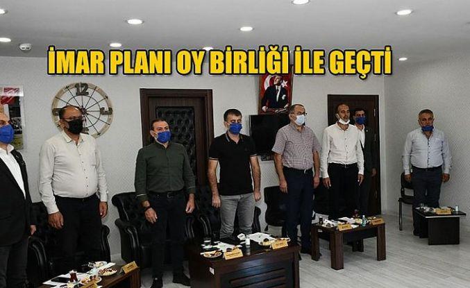 BELEDİYE MECLİSİ İMAR PLANINI KABUL ETTİ