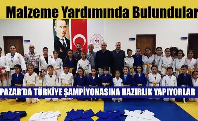 PAZAR'DA TÜRKİYE ŞAMPİYONASINA HAZIRLANIYOR.
