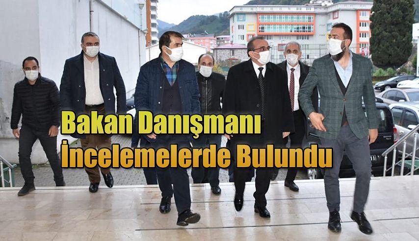 BAKAN DANIŞMANI HOPA'DA