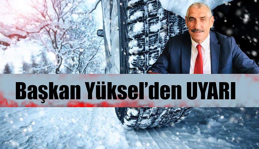 Pazar Şoförler Odası Başkanı Osman Yüksel'de uyarı geldi