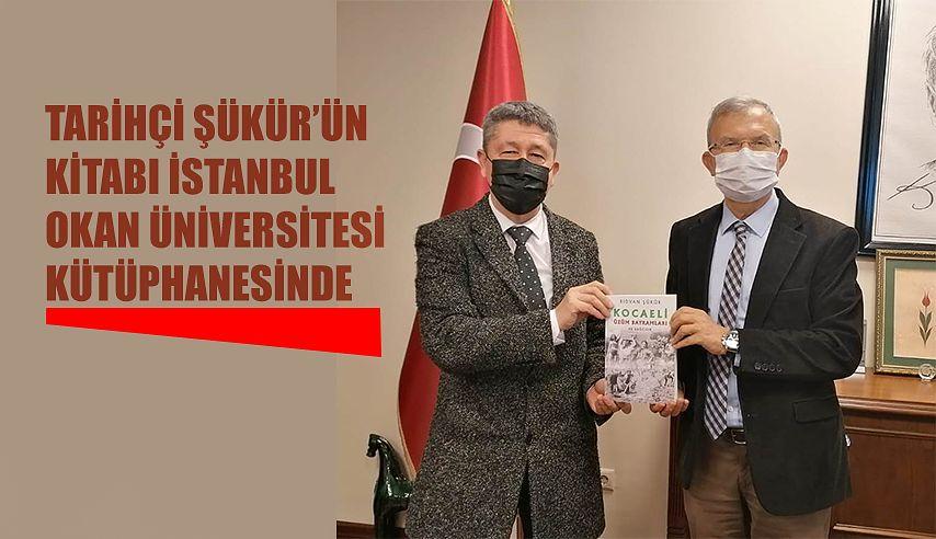 Tarihçi Rıdvan Şükür, Okan üniversitesinin misafiri oldu