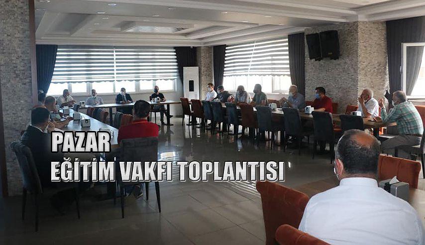 EĞİTİM VAKFI TOPLANTISI
