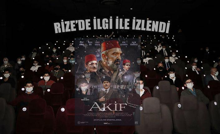 """""""Akif"""" Filmi Rize'de Gençlerle Buluştu"""