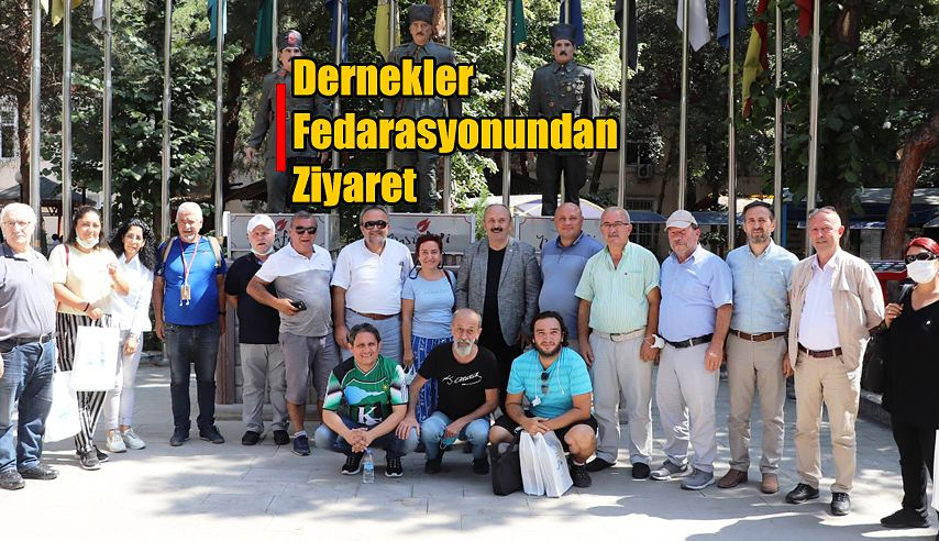 DERNEKLER FEDERASYONU'NDAN YUSUFELİ'NE ZİYARET