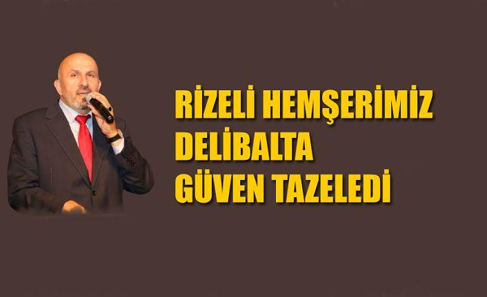 İstanbul Muhtarlar Federasyonu Kadir Delibalta İle Yola Devam Dedi