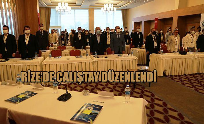 Rize'de Çalıştay Düzenlendi