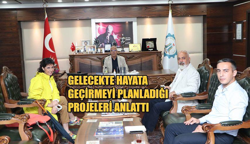 SANATÇI DENİZHAN ÖZER'DEN TSO'YA ZİYARET