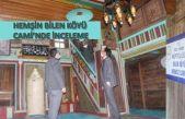 Tarihi TEPAN Köyü Cami'nde inceleme